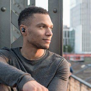 Bragi The Dash Smart In-Ear-Kopfhörer (kabellos, Bluetooth) schwarz