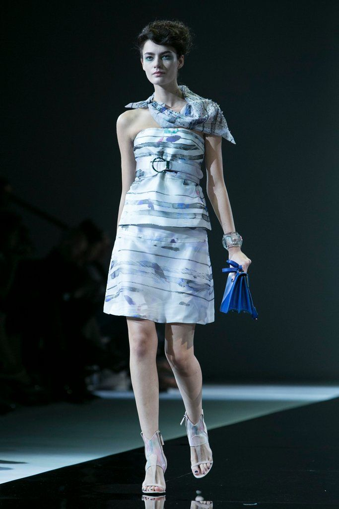 Girogio Armani, Paris fashion