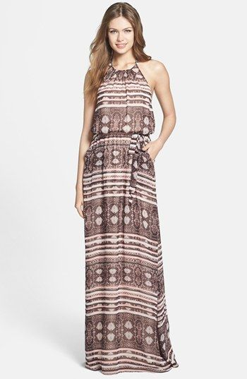 Jessica Simpson Print Halter Maxi Dress | Nordstrom: Fashion, Simpsons Prints, Maxis, Prints Halter, Jessicasimpson Maxi, Halter Dresses, Jessica Simpsons, Halter Maxi Dresses, Style Tips