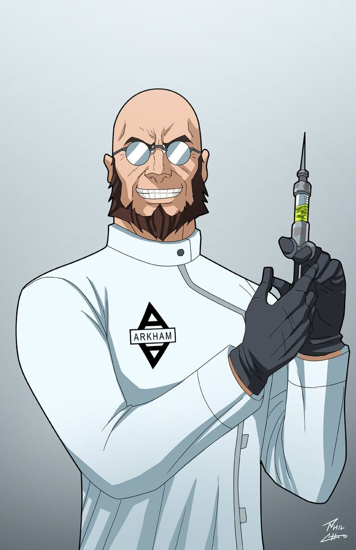 Dr. Hugo Strange by phil-cho on DeviantArt