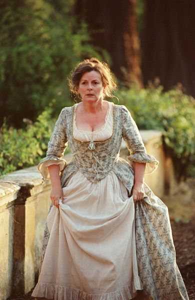 Image result for mrs bennet's dresses in pride and prejudice 2005