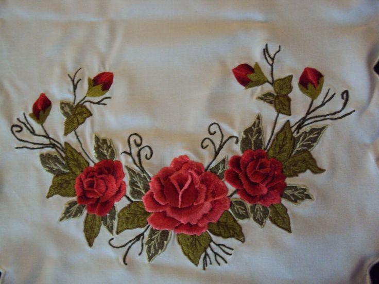 Best images about flores bordadas on pinterest hand