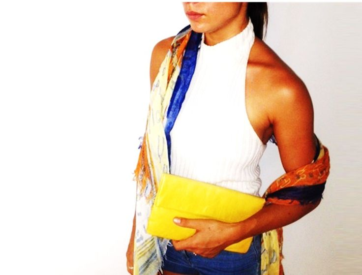 YELLOW JESSICA clutch $80 free shipping