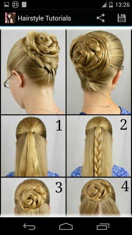 Einfache Frisuren für mittellanges Haar Schritt für Schritt zu Hause #Frisur