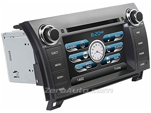 Special Offers - 2007-2013 Toyota Tundra 2008-2014 Sequoia In-Dash Navigation Stereo GPS DVD CD MP3 AVI USB SD Radio Bluetooth Hands-free Steering Wheel Controls 7 Touch Screen iPod iPhone-Ready AV Receiver Video Audio Player Multimedia Infotainment System w/ Digital TV Rear View Camera Option OEM Replacement SUV Pickup Truck Deck - In stock & Free Shipping. You can save more money! Check It (June 29 2016 at 10:08AM)…