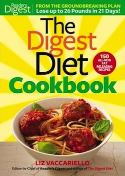 Just posted this giveaway for the Digest Diet Cookbook! Stop by, enter to win and check out a yummy #recipe for chocolate chocolate chip cookies - a rather healthy recipe from the book!!