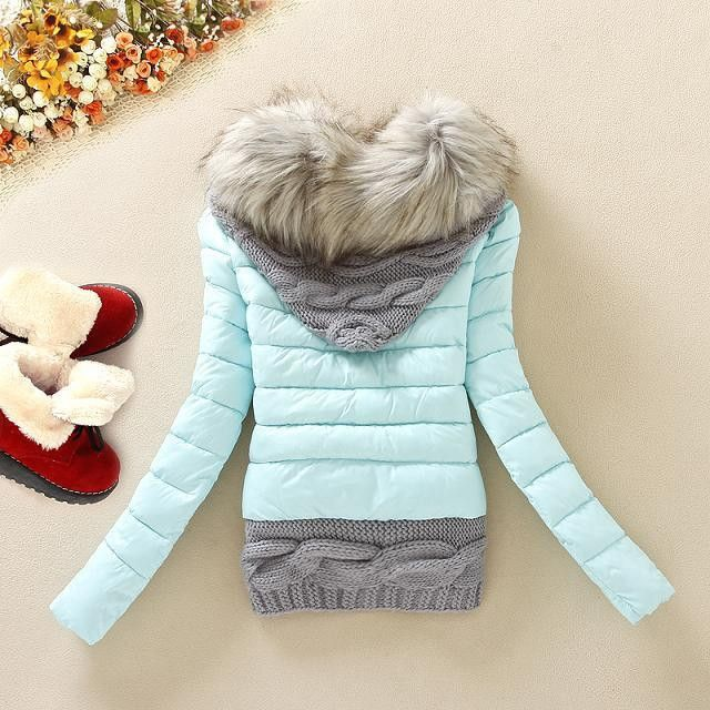 Women Winter Hooded Jacket