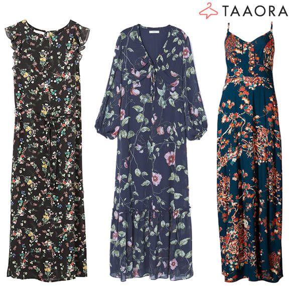 Robes longues à fleurs tendance été 2017 \u003e\u003e http//www.taaora