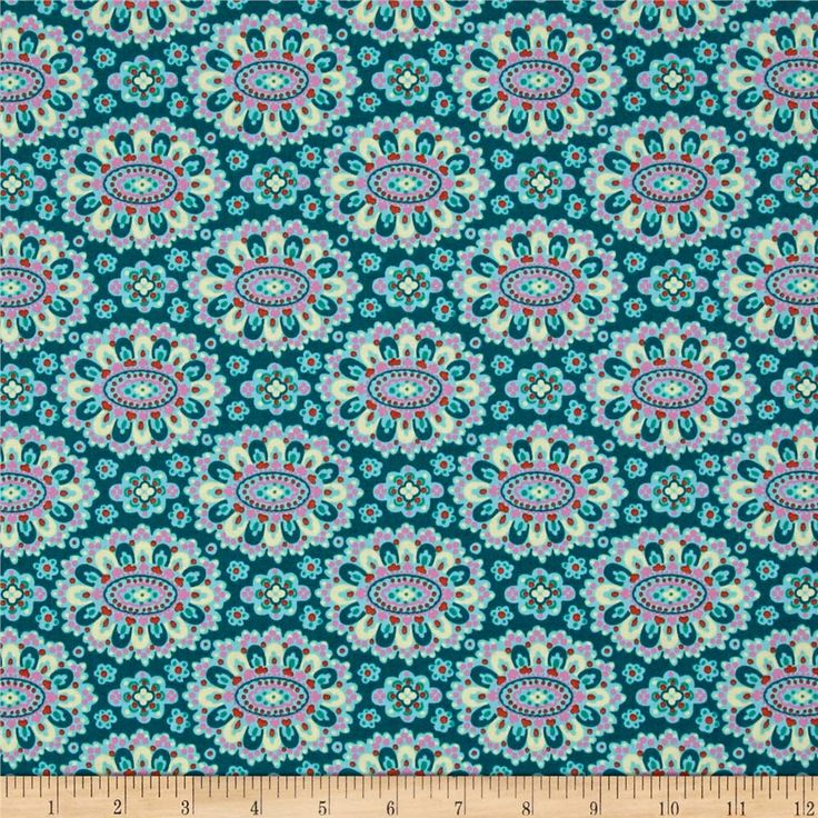 Amy Butler Eternal Sunshine Cloisonne Lake from @fabricdotcom  Designed by Amy…