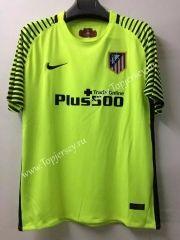 2016-17 Atletico Madrid Goalkeeper Green Thailand Soccer Jersey