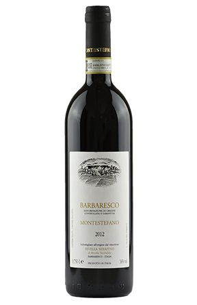 Barbaresco Montestefano. Serafino Rivella. Da Montestefano, cru in Barbaresco, da cui si ottengono vini fini ed eleganti; una espressione di Barbaresco secondo tradizione...