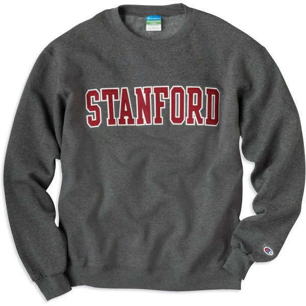 1307F Stanford Crewneck Sweatshirt   Stanford University ❤ liked on Polyvore featuring tops, hoodies, sweatshirts, shirts, sweaters, crew neck shirt, letter shirts, crewneck sweatshirt, crew neck tops and shirts & tops
