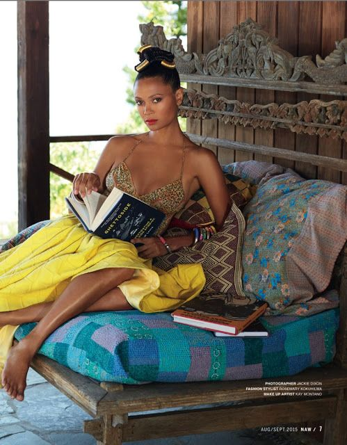 Thandie Newton's New African Woman Magazine cover is out and it's GORGEOUS! - Makho