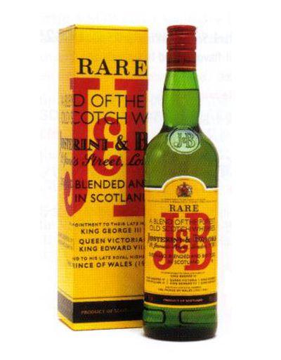 J&B Whisky   Patrick Bateman's choice.