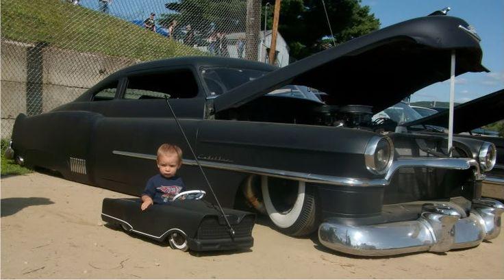 rockabilly cars | Atticus's 1st Rockabilly Car show - BabyGaga