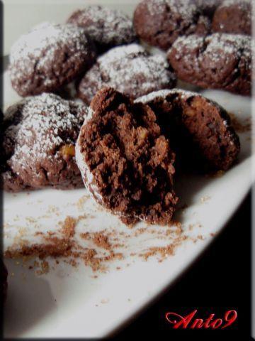 Biscotti allo yogurt e cacao..... senza uova e senza burro!!!!