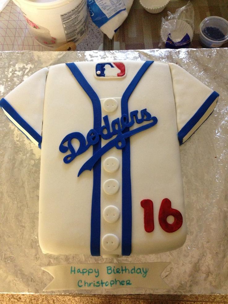 First dodger cake #hobby