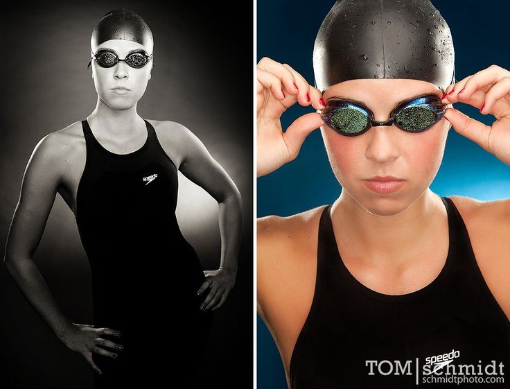 LOVE LOVE LOVE both of these. Perfect idea for our swimmer