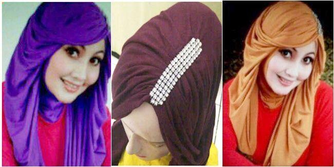 New Style Hijab With Wig Hijab