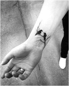 Crow tattoo More #ModernTattooDesigns Click to see more.