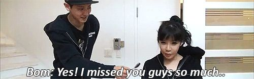 [Roommate Ep.5] Park Bom: Yes! I missed you guys so much...