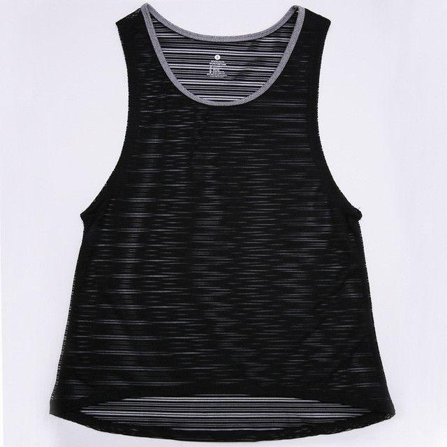 Women Running Shirts Quick Dry Women T-Shirt Breathable Lady Women Sport Running Fitness Shirt/T Shirt/Vest Sleeveless Tank Tops