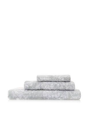 Esplama Art Deco 3-Piece Scroll Towel Set, Chrome