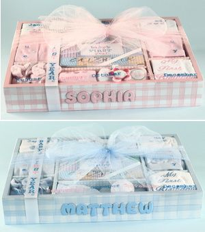 16 best personalized baby gifts images on pinterest baby gift babys first year personalized gift set negle Images