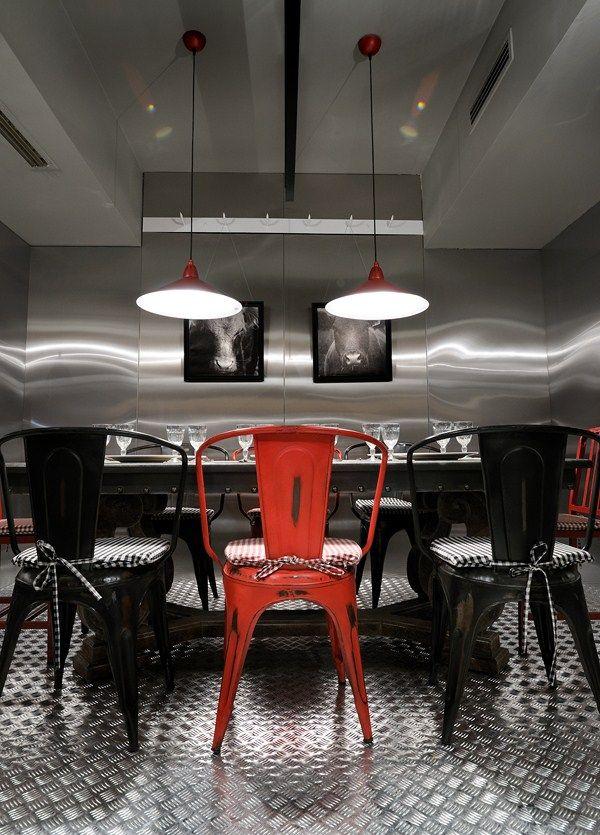 Fabrica Creaton restaurant, Greece designed by Minas Kosmidis