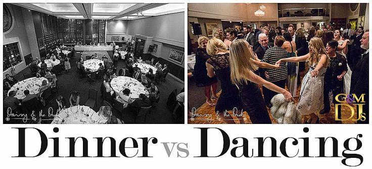 G&M DJs Dinner vs Dancing Music. When it comes to selecting the music for your wedding, there are ultimately two types to think about….. Country and Western….. wait!… that's not right!   The two types are............ (click through to read more).