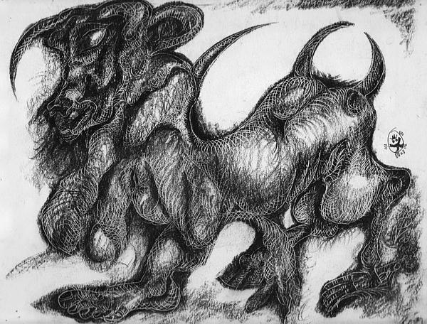 Portrait d'un minotaure...