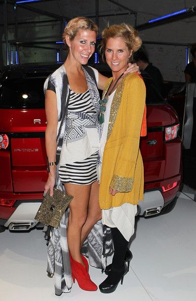 Sarah-Jane Clarke Photos Photos - Designers Sarah-Jane Clarke (R) and Heidi Middleton pose as they attend the launch of the Range Rover Evoque on June 29, 2011 in Melbourne, Australia. - Celebrities Attend Range Rover Launch