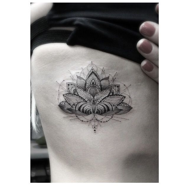 wow lotus tattoo by dr woo on ellie goulding tattoos pinterest beautiful lotus tattoo. Black Bedroom Furniture Sets. Home Design Ideas