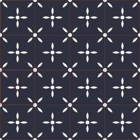 Carreaux de ciment BAHYA motif Laurette Encaustic tiles BAHYA - pattern : Laurette