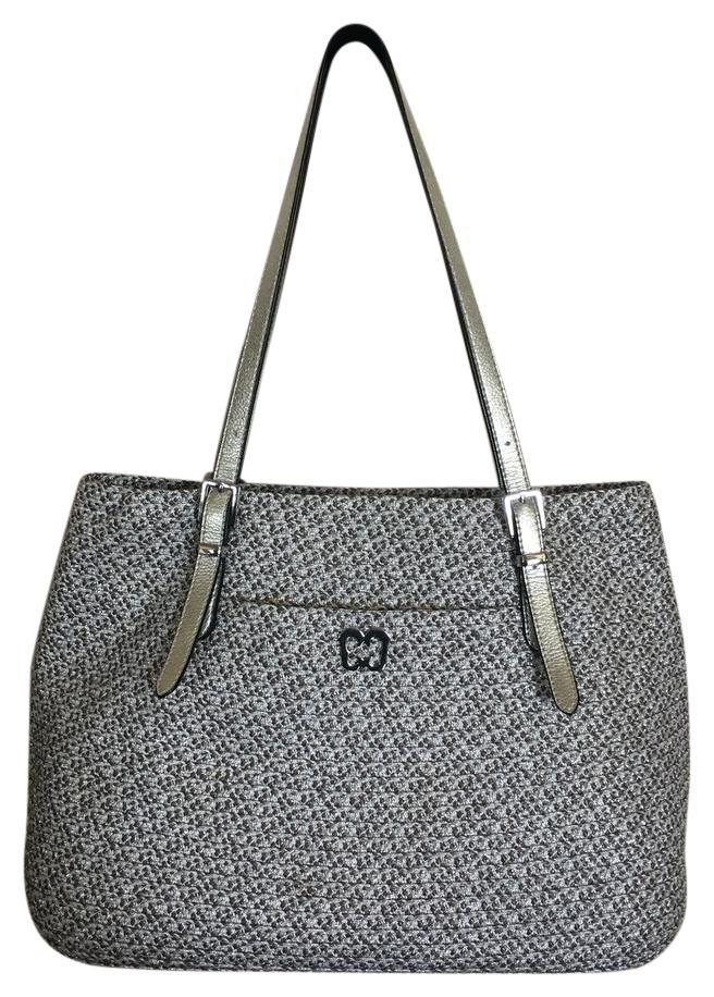 Eric Javits Squishee Jav Ii Metallic Silver Tote Bag. Get one of the hottest styles of the season! The Eric Javits Squishee Jav Ii Metallic Silver Tote Bag is a top 10 member favorite on Tradesy. Save on yours before they're sold out!