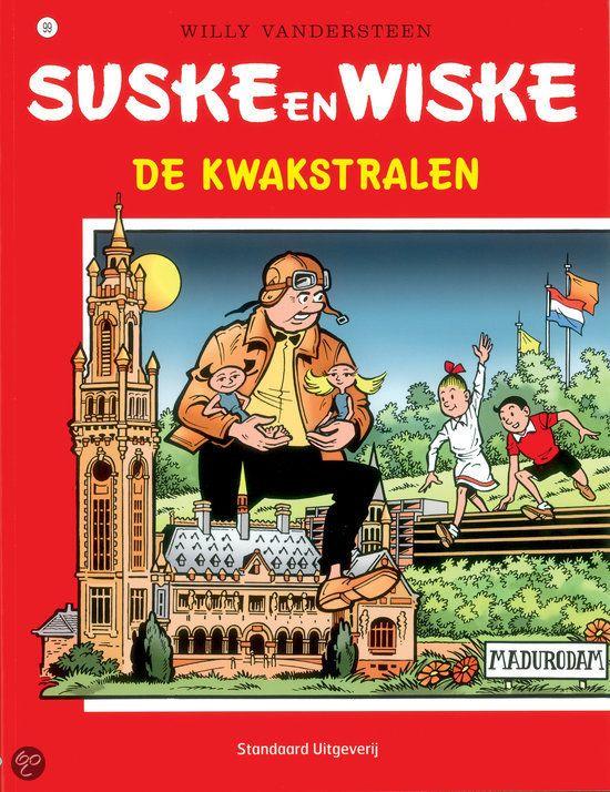 99 - Suske en Wiske - De kwakstralen