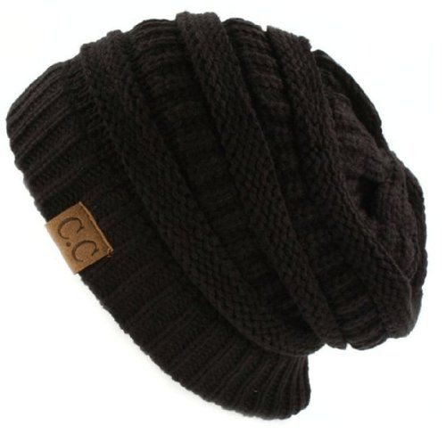 Trendy Warm Chunky Soft Stretch Cable Knit Slouchy Beanie Skully HAT20A,One Size,Black NYfashion101 http://www.amazon.com/dp/B00HNXNTDW/ref=cm_sw_r_pi_dp_ZNK4ub191SBGP