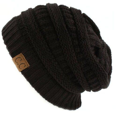 Trendy Warm Chunky Soft Stretch Cable Knit Slouchy Beanie Skully HAT20A,One Size,Black NYfashion101 http://www.amazon.com/dp/B00HNXNTDW/ref=cm_sw_r_pi_dp_ZNK4ub191SBGP
