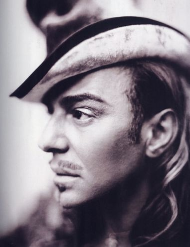 Fashion's Most Wanted: My favourite photographers - Paolo Roversi with Galliano