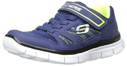 Skechers Flex AdvantageMaster Dash, Jungen Sneakers, Blau (NVYL), 28 EU - http://on-line-kaufen.de/skechers/28-eu-skechers-flex-advantage-master-dash-jungen