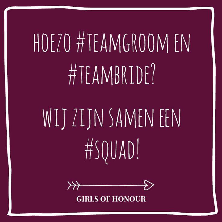 Squad power! #teamgroom #teambride