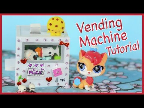 Miniature Squishy Vending Machine Tutorial (WORKS) ~ For LPS, Shopkins, Dollhouse