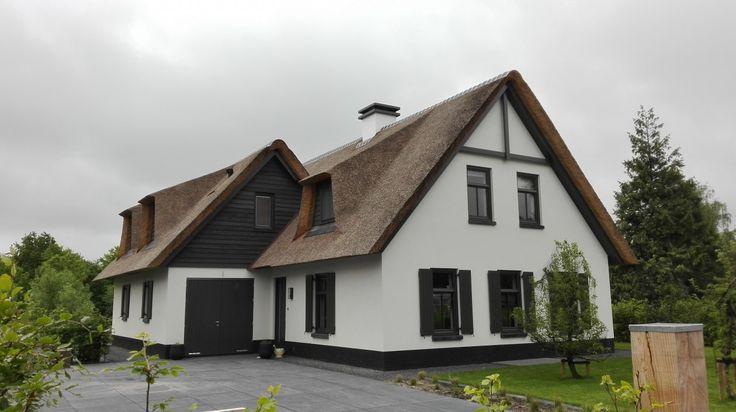 Deze moderne landelijke woning is ontworpen door topontwerper Bertram Beerbaum.