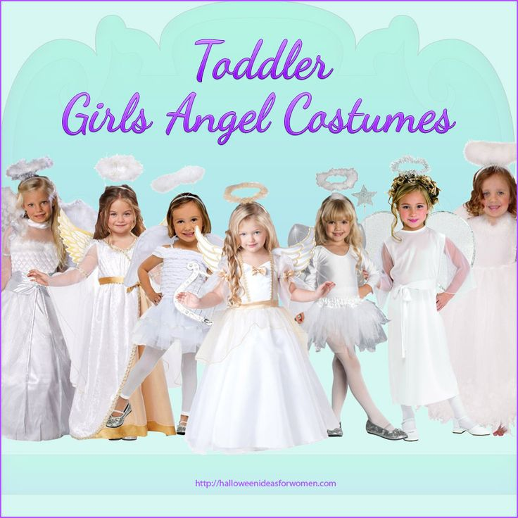 Are you looking for a Toddler Girls Angel Costume for Halloween, Christmas Pagent, or just for dress-up? If so, then I'm sure you'll find the ideal gorgeous, sweet, little girls angel costume fr