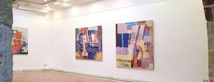 Oils on canvas. Centre Jujol -Can Negre St. Joan Despí (Bcn) '15