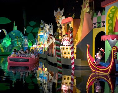 """I know you are singing """"It's a small world after all, it's a small world after all""""!  Ha - Ha - now you've got that song stuck in your head."""