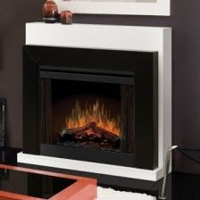 """33"""" Convertible Contemporary Electric Fireplace"""