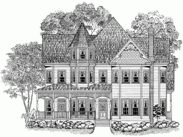 25 best images about queen ann homes on pinterest queen for Queen anne floor plans