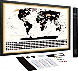 Review for Scratch Off World Map Complete Set with US States and Country Flags, Best Travel... - Carly Sevy - Blog Booster