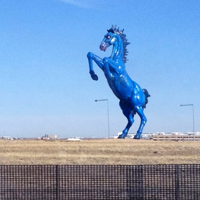 Us Locals Call This Sculpture At Denver International